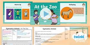 Twinkl Move - Y1 Gymnastics: Animals Lesson 3 - At The Zoo