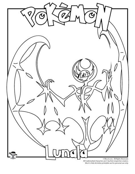 lunala coloring page woo jr kids activities