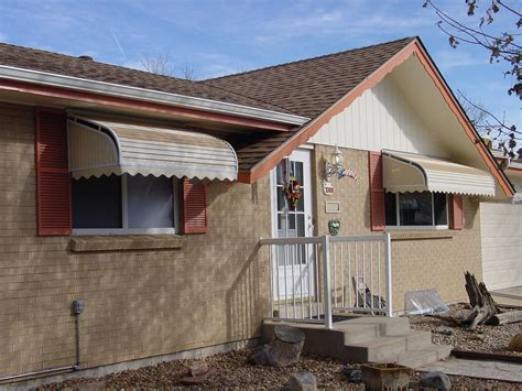 metal window awnings metal window awnings home design insight