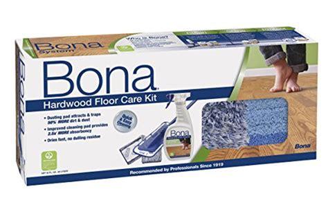bona hardwood floor care system 4 piece set duster mop