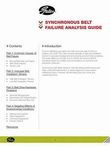 Belt Failure Analysis Guide