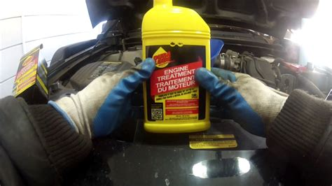 today vlog quick oil change  dura lube engine