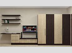 Modular Wardrobe design for Indian Bedroom having 4 door