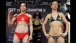 Invicta FC 33 Weigh-in Results and Video