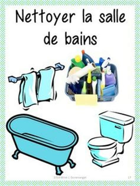 nettoyer la salle de bain 1000 images about t 226 ches quotidiennes on fle daily routines and household chores
