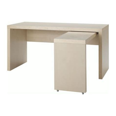 ikea desk with pull out work surface design inspirations
