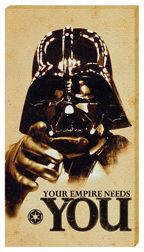 leinwand wars leinwand poster bilder wars your empire needs you bei europosters