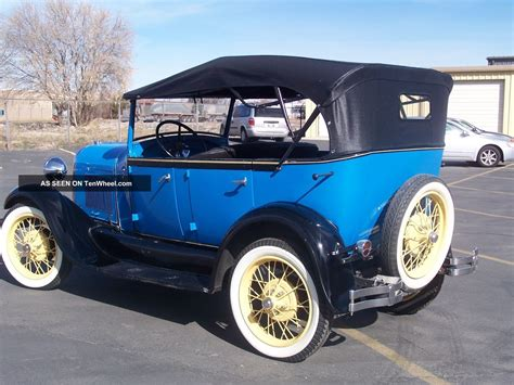 1928 Ford Model A by 1928 Model A Ford Phaeton