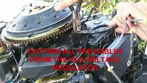 Replacing The  100 Voltage Regulator On Outboard Motors