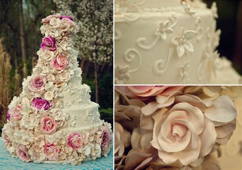 pink turquoise shabby chic wedding inspiration
