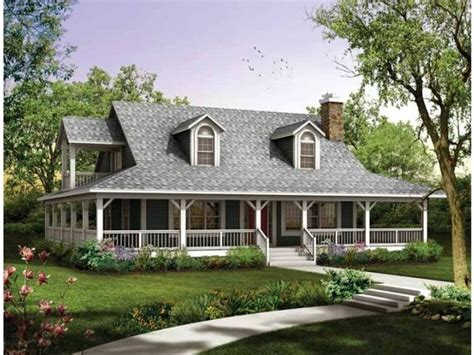 Country House : Rustic House Plans With Wrap Around Porches