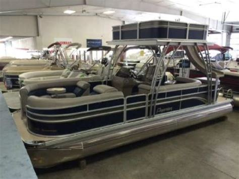 Pontoon With Upper Deck And Slide For Sale by Upper Deck For Pontoon Boat Boats For Sale