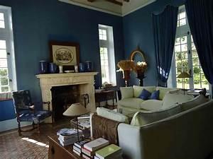 bleu attu salon idees novatrices de la conception et du With lovely couleur pour mur salon 1 on met laccent sur la couleur de peinture pour salon