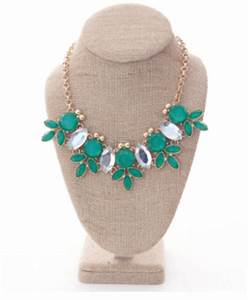 Pops of Color Bow Flats and Statement Necklaces and