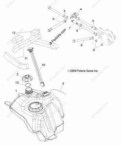 Polaris Atv 2010 Oem Parts Diagram For Body  Fuel System