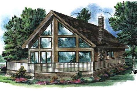 cabin house plan loft bedrms bath sq ft