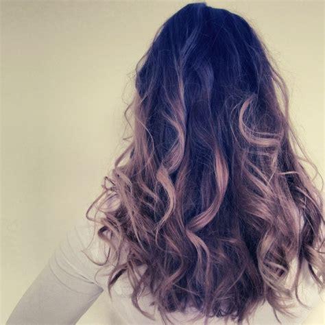 Dip Dye Hair Style Pinterest Colored Highlights