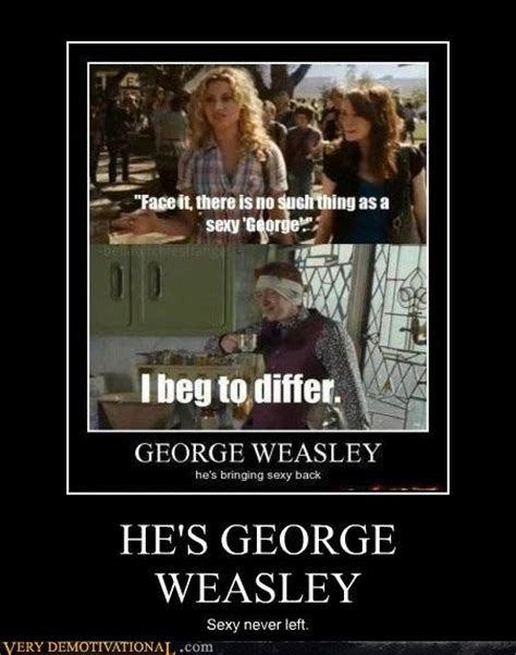George Weasleyyep Harry Potter Pinterest Sexy Lol Funny And Sexy Back