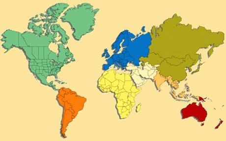 Kontinenti po veličini, koji je najveci kontinent ...