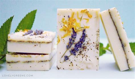 Herb Garden Soap Recipe + Instructions • Lovely Greens