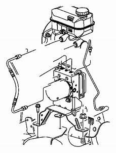 Chrysler Aspen Abs Hydraulic Assembly  Control  Light