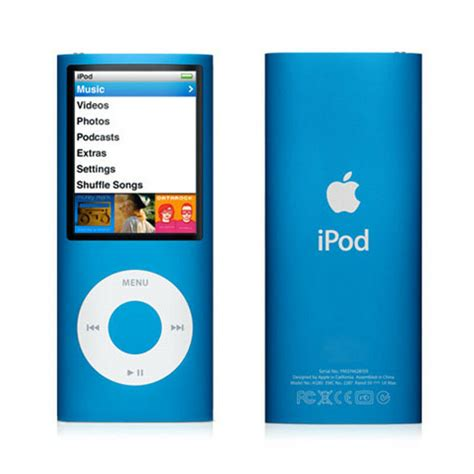 ipod nano generationen apple ipod nano 4th generation blue 8gb 885909258024 ebay