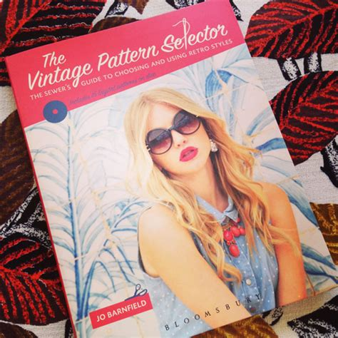 book review  vintage pattern selector  fine