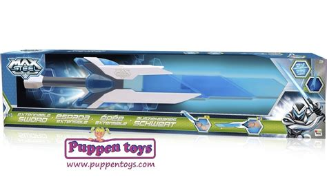 extendable sword max steel imc toys juguetes puppen toys