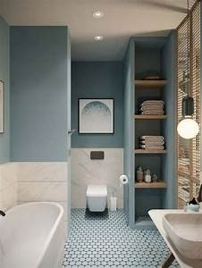 15, Charming, Bathroom, D, U00e9cor, Ideas, With, Blue, Colors, 10