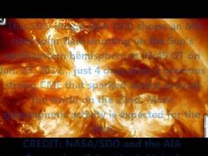 NASA NOAA Spaceweather.com Solar Storm Warning and ...