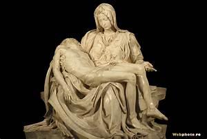 Pin Michelangelo The Pieta Sculpture In St Peters Basilica ...