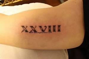 20 En Chiffre Romain : chiffre romain tatouage ~ Melissatoandfro.com Idées de Décoration