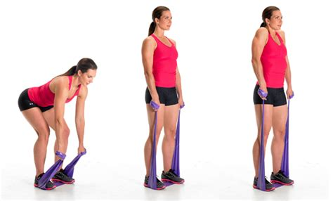 Back Exercises with Resistance Bands