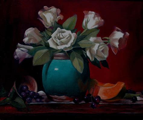 vase painting by rick fitzsimons
