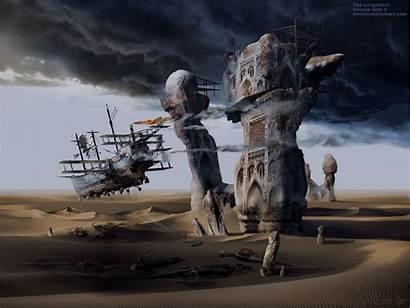 Langoliers Entropy 3d Modern Artist Poster Surrealism