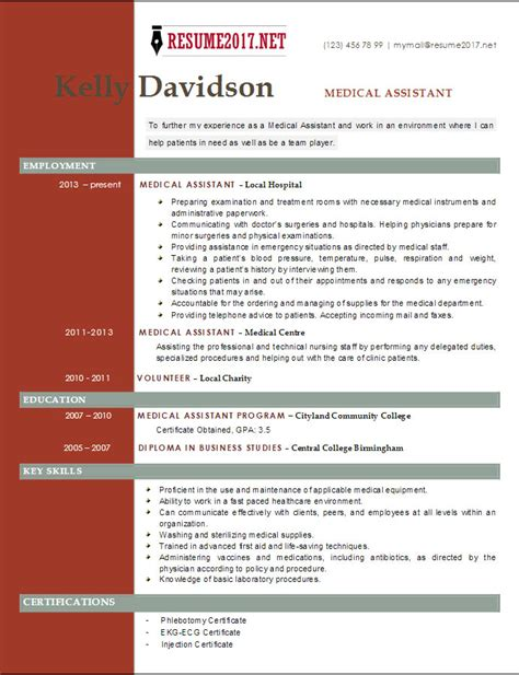 top 6 assistant resume templates 2017