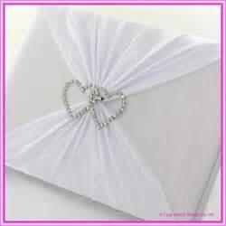 wedding guest book wedding guest books wedding guest book diamante hearts white