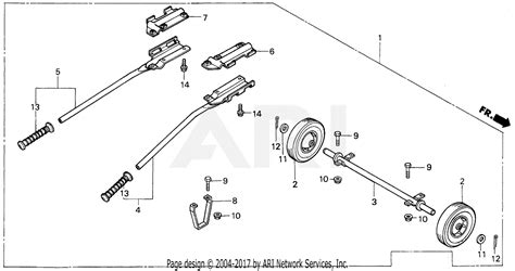 honda eb5000x a generator jpn vin ea7 3000001 parts diagram for em eb wheel 2 wheels