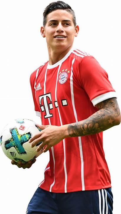 Rodriguez James Render Bayern Munich Footyrenders
