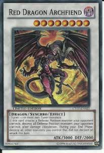 red dragon archfiend my yu gi oh deck wiki