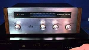 Pioneer Sr-202 Vintage Spring Stereo Reverb Amp Demo