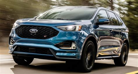 2019 ford edge the new 2019 ford edge st is the sharpest yet carscoops