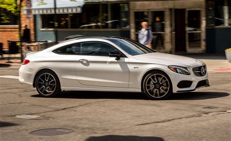 mercedes c43 amg 2017 mercedes amg c43 coupe test review car and driver