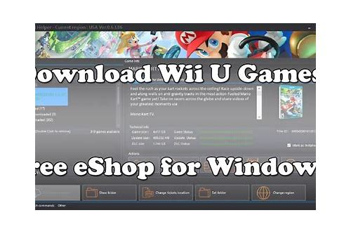 download for free wii games