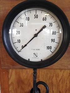 Ashcroft Steam Pressure Gauge  U2013 New England Wireless