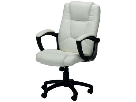 magasin article de bureau fauteuil de bureau sam coloris blanc vente de fauteuil