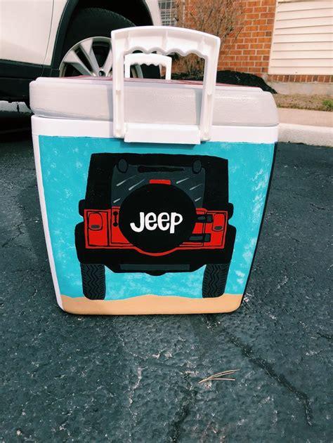 jeep cooler side jeep cooler