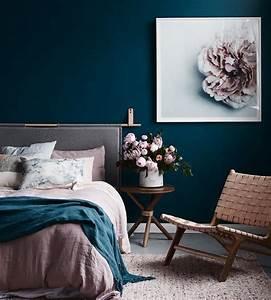 affordable peinture chambre adulte couleur bleu fonc linge With tapis chambre bébé avec formation fleur de bach