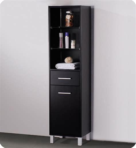 15 75 quot fresca fst1004es espresso bathroom linen cabinet