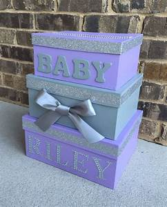baby shower card box giftcard box and letter box With baby shower letter boxes